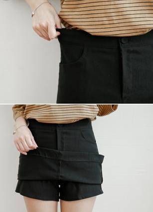 经典的秘密弯曲裙子裤子<br> <B>(S~L)</b> <br>