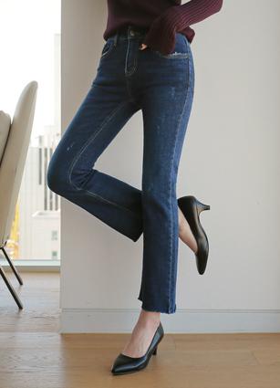亲切的秘密弯曲靴子修身靴子切割罩(223) <B>(S,M,L,XL)</b>