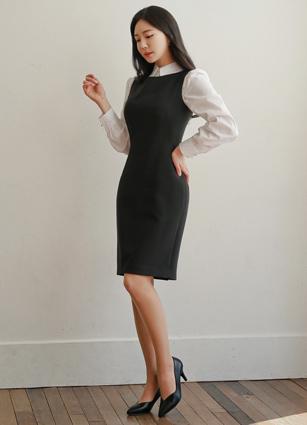 基本袖裙<B>(S,M,L)</b>