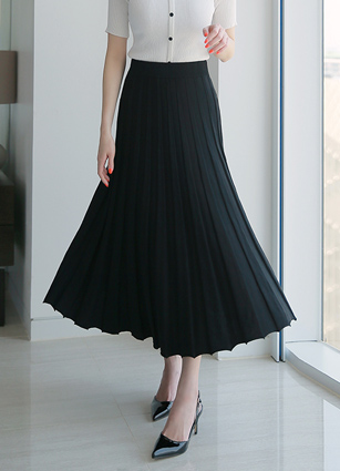 Amelie皱纹夏天针织裙子