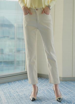 愿望清单苗条Boy Fit裤子(368)(S,M,L,XL) <br>