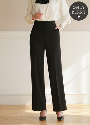 半高腰宽宽松长裤(S,M,L) <br> <b>day即日发货♤</b> <br>