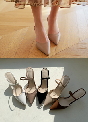 """绑带高跟鞋<font color=""""#ed1558""""><b>[跟:6cm]</b> <br></font>"""