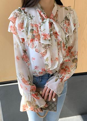Ravier花衬衫<br>